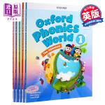 新版牛津自然拼读法 Oxford Phonics World Level 1 2 3 4 5 全5级课程 自然拼读英语