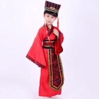 儿童古装汉服男古代学生中国风国学服装幼儿孔子大臣舞台演出服