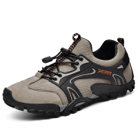 秋季新款登山鞋男耐磨户外休闲鞋软底爸爸鞋旅游运动单鞋