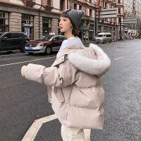 2019棉衣女潮中长款冬装女士ins面包服冬季外套棉袄 S 80-110斤