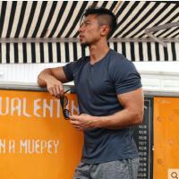 速干衣男士跑步宽松薄款大码半袖健身衣服短袖运动T恤