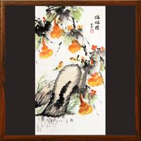 《福禄图》周玉兰【R4475】浙江美协 油画家协会会员