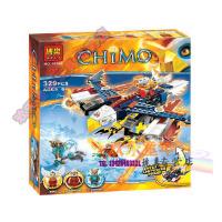 欢乐童年-博乐10292鹰杰斯烈焰FX机烈焰气功传奇儿童益智拼装积木玩具