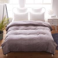 冬季宿舍学生珊瑚绒毯子法兰绒毛毯盖毯双人单人保暖加厚床单日式