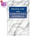 【中商海外直订】Pozzolanic and Cementitious Materials