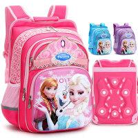 迪士尼冰雪奇缘书包1-3-4年级小学生书包女生韩版3D儿童背包护脊一 公主梦 3D减负护脊