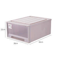 塑料 抽屉 整理箱抽屉式收纳箱透明收纳盒特大号多层组合储物柜儿童衣柜