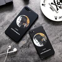 个性潮牌情侣苹果7手机壳iphone6plus这个杀手不太冷里昂磨砂硬6s iPhone7 黑色