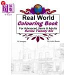 【中商海外直订】Real World Colouring Books Series 26