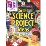 【中商海外直订】Janice Vancleave's Great Science Project Ideas from