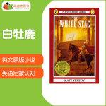 #凯迪克 进口英语英文原版绘本 美国进口 1938纽伯瑞金奖 The White Stag 白牡鹿【平装】