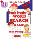 【中商海外直订】Puzzle Practice Book: Exciting Word Search Have stu