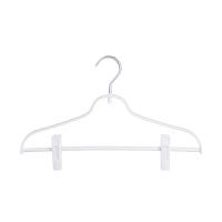 衣架子批发挂衣架衣服架带夹子衣撑家用凉衣挂架子多功能塑料裤架 5个