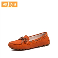 Safiya/索菲娅春秋牛反绒蝴蝶结单鞋女鞋SF71111039