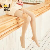 BWELL 防水防污耐勾丝修腿显瘦光腿舒适艾草暖宫收腹提臀连裤袜