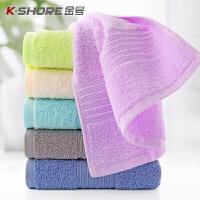 金号(KingShore)纯棉毛巾洗脸巾 家用成人柔软全棉吸水男女毛巾批发