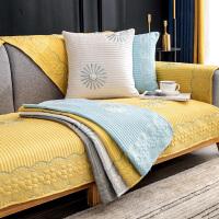 沙发垫防滑四季通用套罩夏天款北欧现代简约高档坐垫子