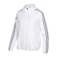 Adidas阿迪达斯 女装 运动休闲防风连帽夹克外套 DW4561