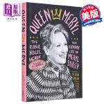 【中商原版】梅丽尔・斯特里普传记 英文原版 Queen Meryl: The Iconic Roles, Heroic