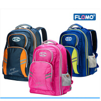 Flomo富乐梦人因护脊书包儿童双肩减负包小学生男女4-6年级CL-302