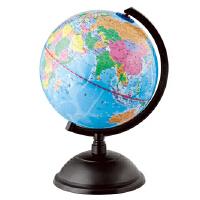得力地球仪32cm 25cm 20cm 14.2cm 高清 标准教学 经典中英地形 得力地球仪