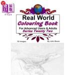 【中商海外直订】Real World Colouring Books Series 22