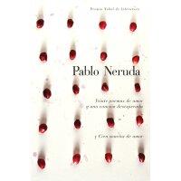 西班牙语原版 聂鲁达:二十首情诗和一首绝望的歌 Veinte poemas de amor y una cancion