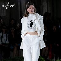 巴黎时装周爱丽丝合作款伊芙丽2020新款春装韩版职业西装外套女