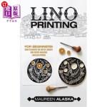 【中商海外直订】Lino Printing: For Beginners! How to Master the Art