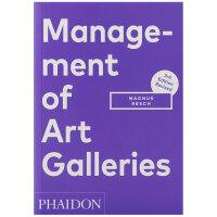 【预订】Management of Art Galleries 艺廊管理 画廊商业管理运营