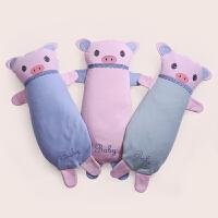 龙之涵宝宝儿童枕头荞麦壳可调节1-3-6-12岁幼儿园卡通婴儿枕