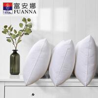 富安娜家纺 儿童成人枕护颈枕抗菌纤维单人枕头枕芯