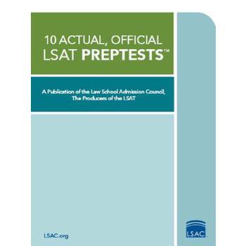 【预订】10 Actual, Official LSAT Preptests: (preptests 7,9,10,11,12,13,14,15,16,18) 预订商品,需要1-3个月发货,非质量问题不接受退换货。
