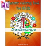 【中商海外直订】Thanksgiving Coloring Book For Adults: From The The