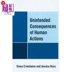 【中商海外直订】Unintended Consequences of Human Actions
