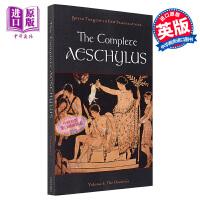 【中商原版】The Complete Aeschylus Volume I The Oresteia 英文原版 牛津埃斯