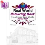 【中商海外直订】Real World Colouring Books Series 100