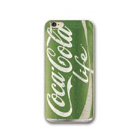 草木绿色可乐iphone6s手机壳5清新8plus苹果7plus硅胶软壳X男女款
