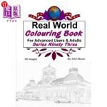 【中商海外直订】Real World Colouring Books Series 93