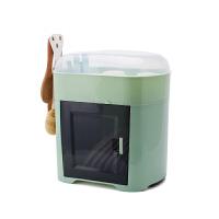 20190702014840766碗筷收纳盒 放碗沥带盖厨房家用收纳架沥水架落地多功能经济型碗柜