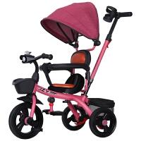 儿童三轮车脚踏车1-2-3-6岁宝宝童车婴儿手推车