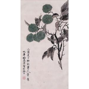 中国京剧表演艺术家 梅兰芳《风栗》