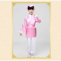 儿童汉服男童书童服装国学服装 儿童汉服女古装弟子规三字经演出