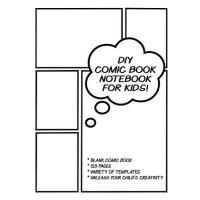 【预订】DIY Comic Book Note Book for Kids: Make Your Own Comics