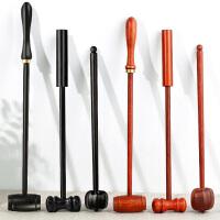 按摩锤敲打锤木质锤子健身捶锤颈部按摩棒敲背锤