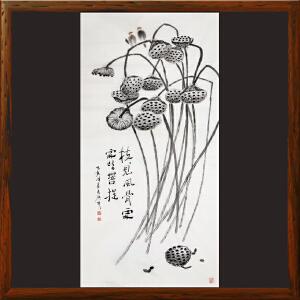 《枝见风骨处 处处皆菩提》于洪顺 实力派画师R4044