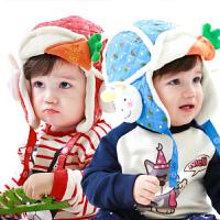 婴儿帽子冬季宝宝帽子秋冬男女儿童帽子冬小孩帽子秋冬1-2-4岁潮