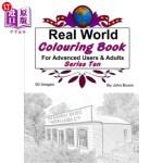 【中商海外直订】Real World Colouring Books Series 10