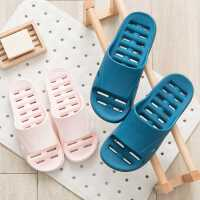 儿童浴室拖鞋女洗澡夏家用防滑防臭速干卫生间漏水镂空塑料凉拖男