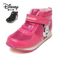 鞋柜/迪士尼冬甜美女童鞋低筒靴